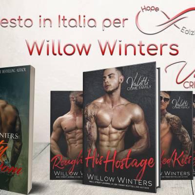 Presto in Italia… Willow Winters!