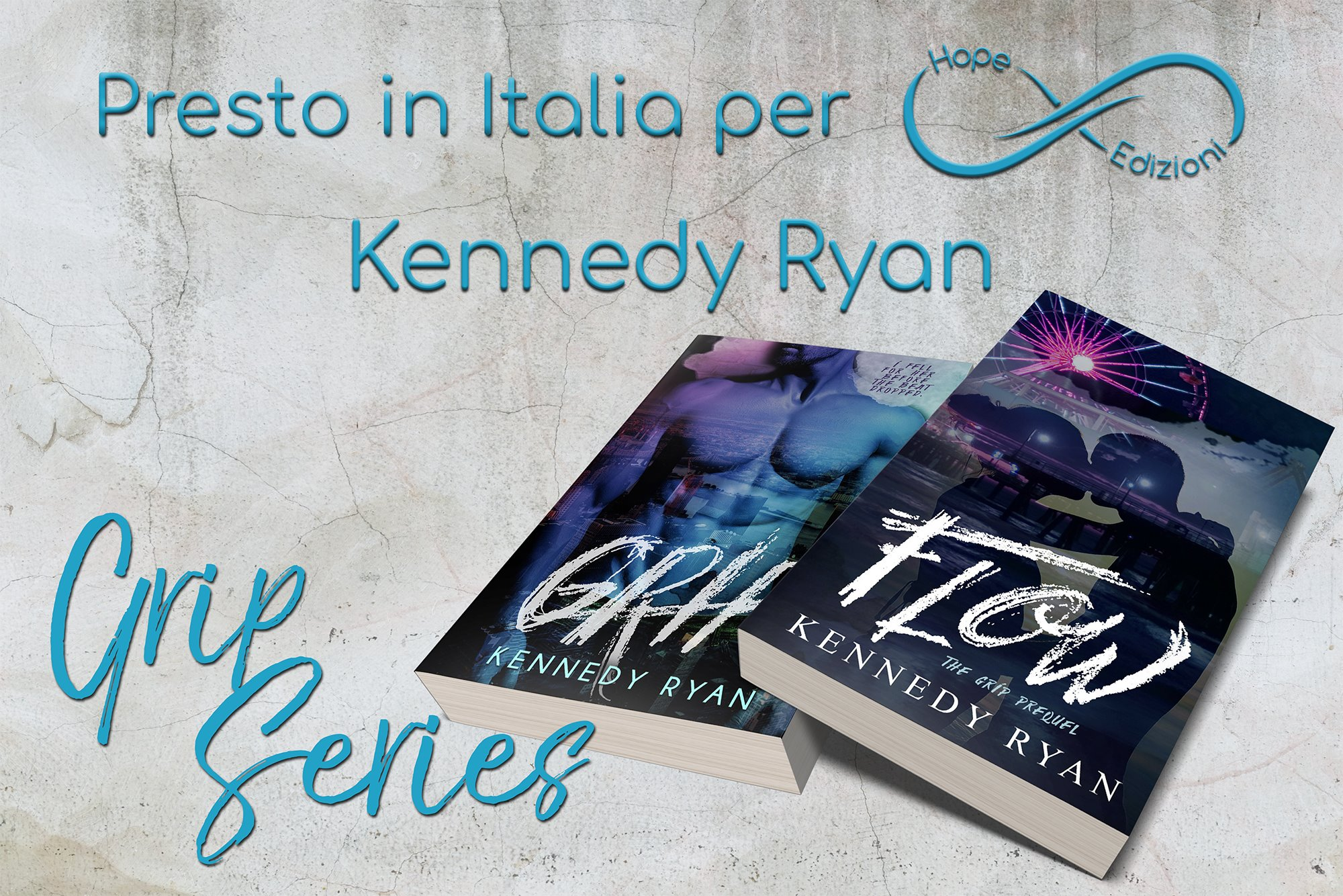Presto in Italia… Kennedy Ryan!