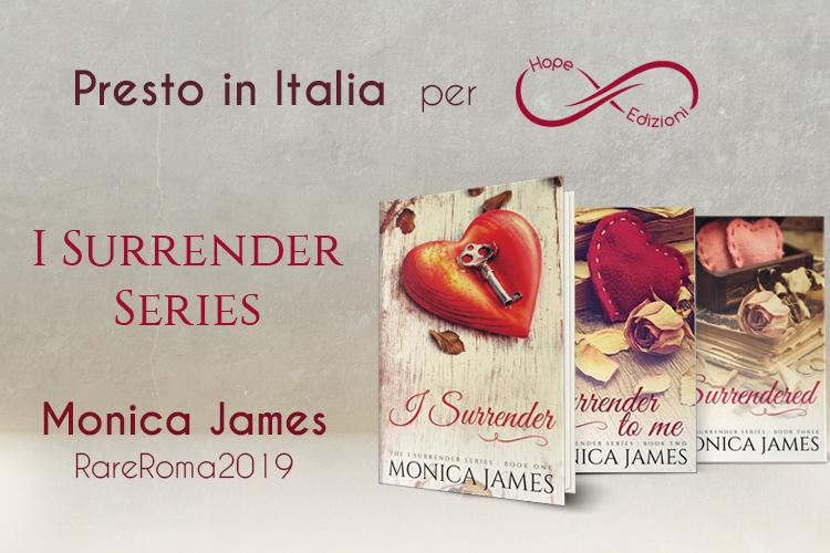 Presto in Italia… Monica James!