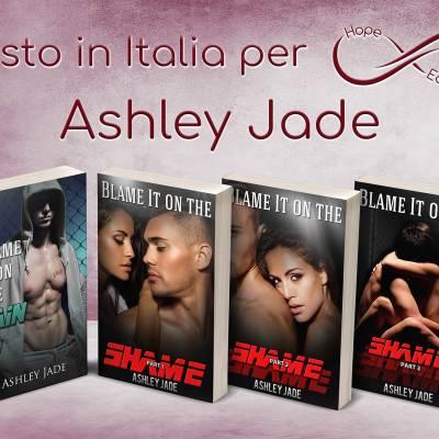 Presto in Italia… Ashley Jade!
