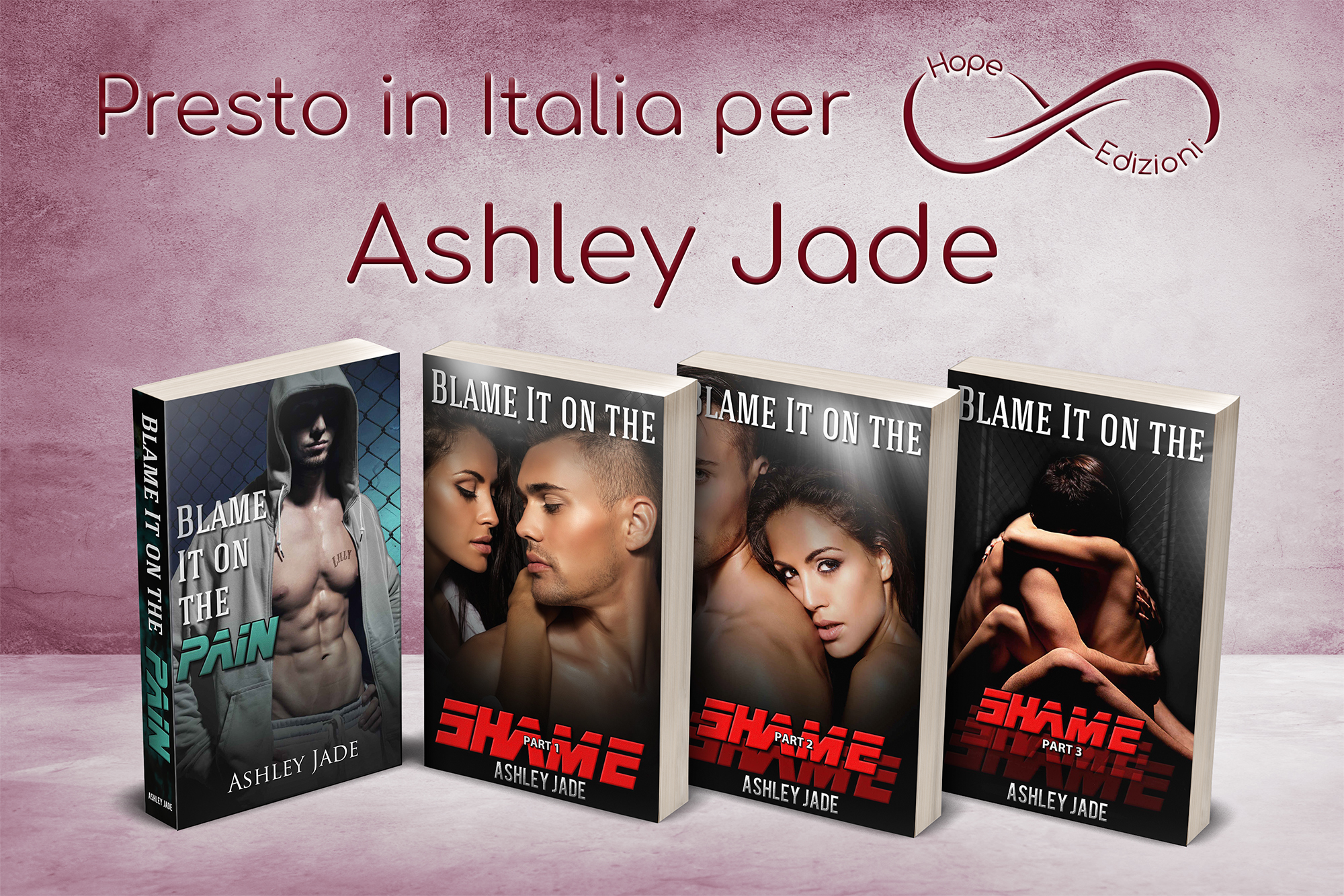 Presto in Italia… Ashley Jade!