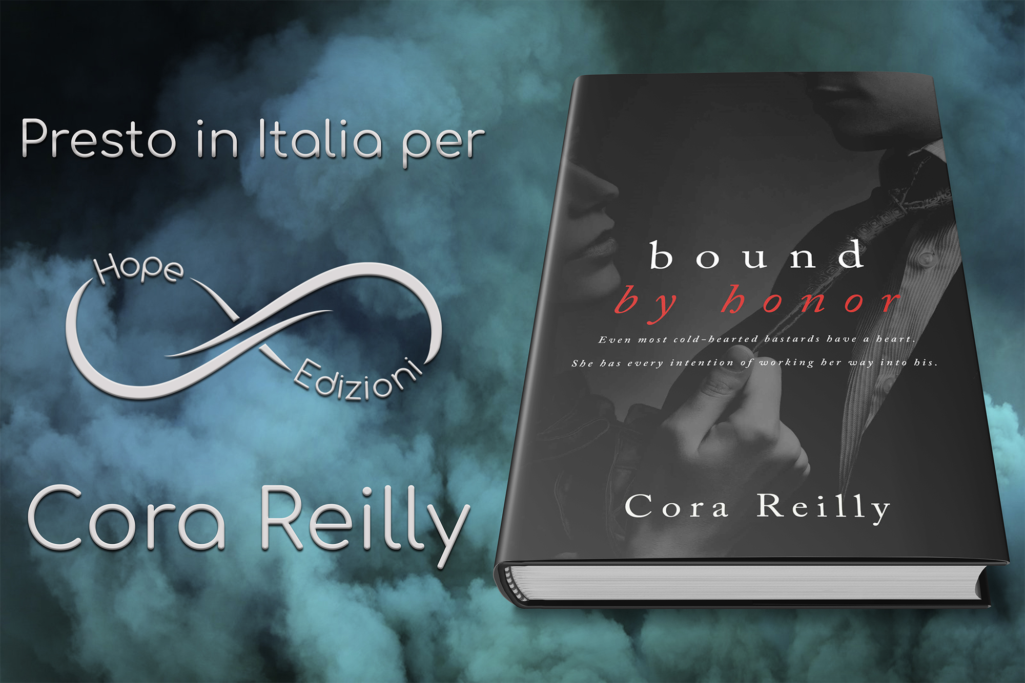 Presto in Italia… Cora Reilly!