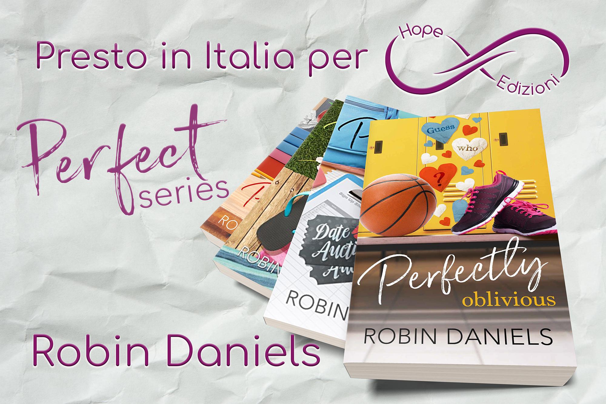 Presto in Italia… Robin Daniels!