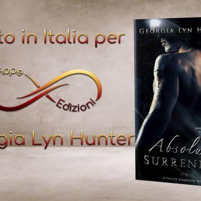 Presto in Italia… Georgia Lyn Hunter!