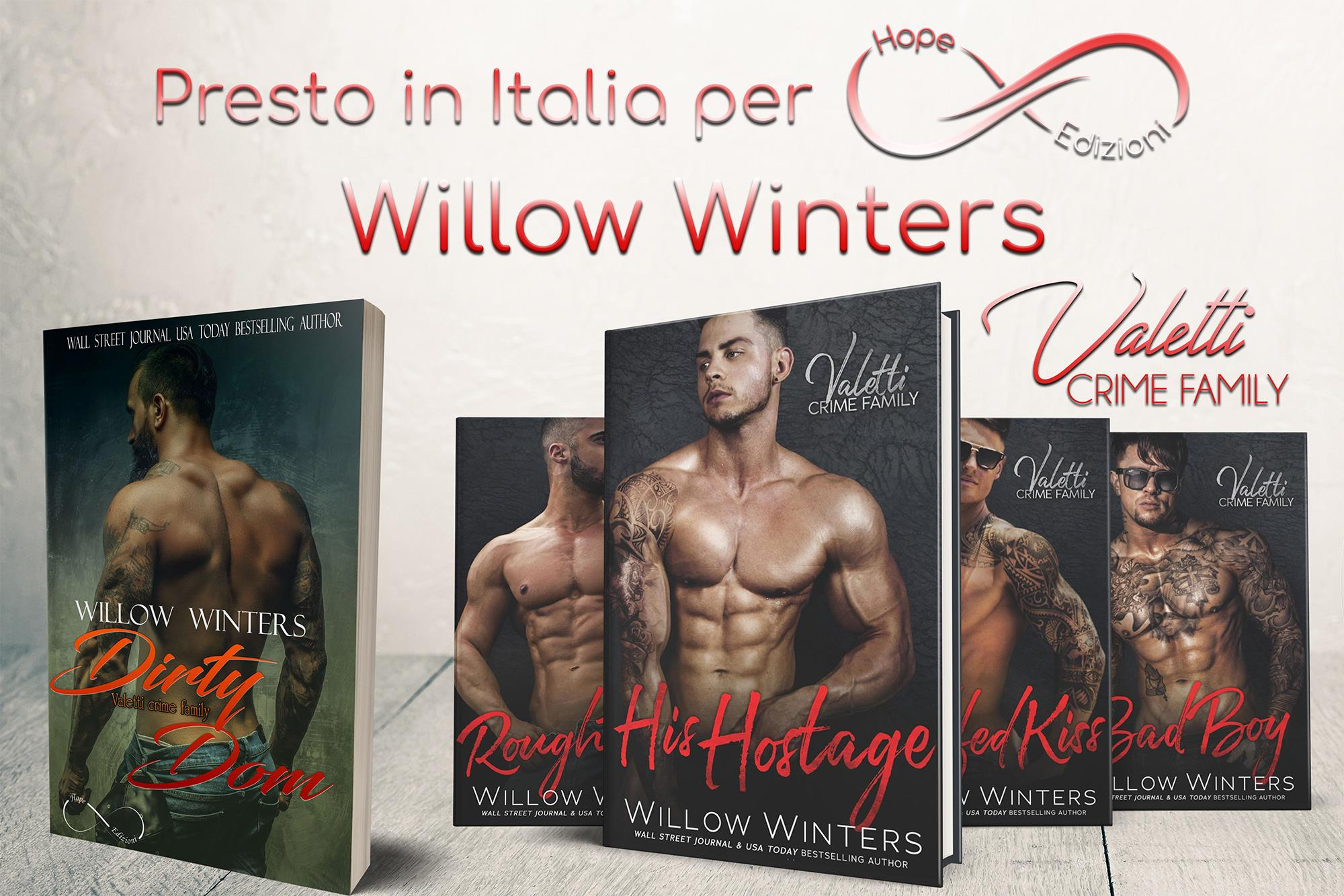 Presto in Italia… Willow Winters!