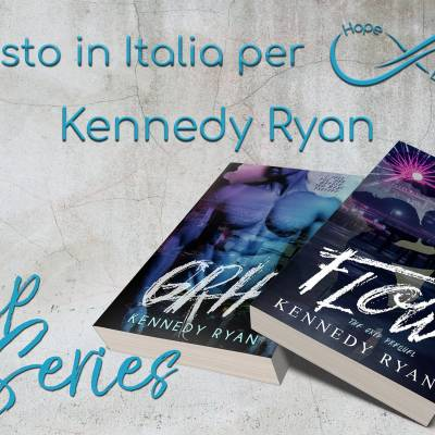 Presto in Italia… Kennedy Ryan!