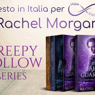Presto in Italia… Rachel Morgan!
