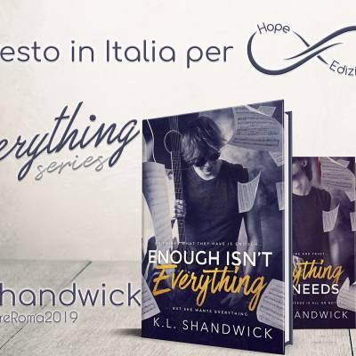 Presto in Italia… K.L. Shandwick!