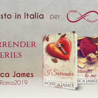 Presto in Italia… Monica James!