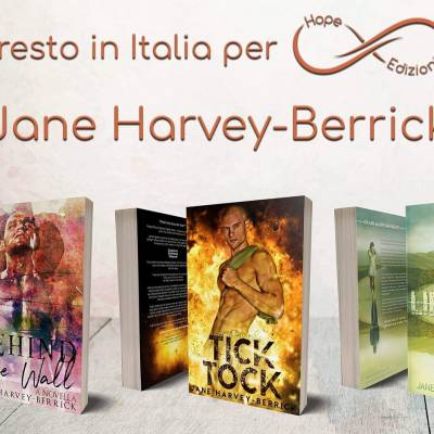 Presto in Italia… Jane Harvey-Berrick!