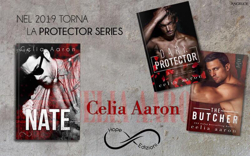 Presto in Italia… Celia Aaron!
