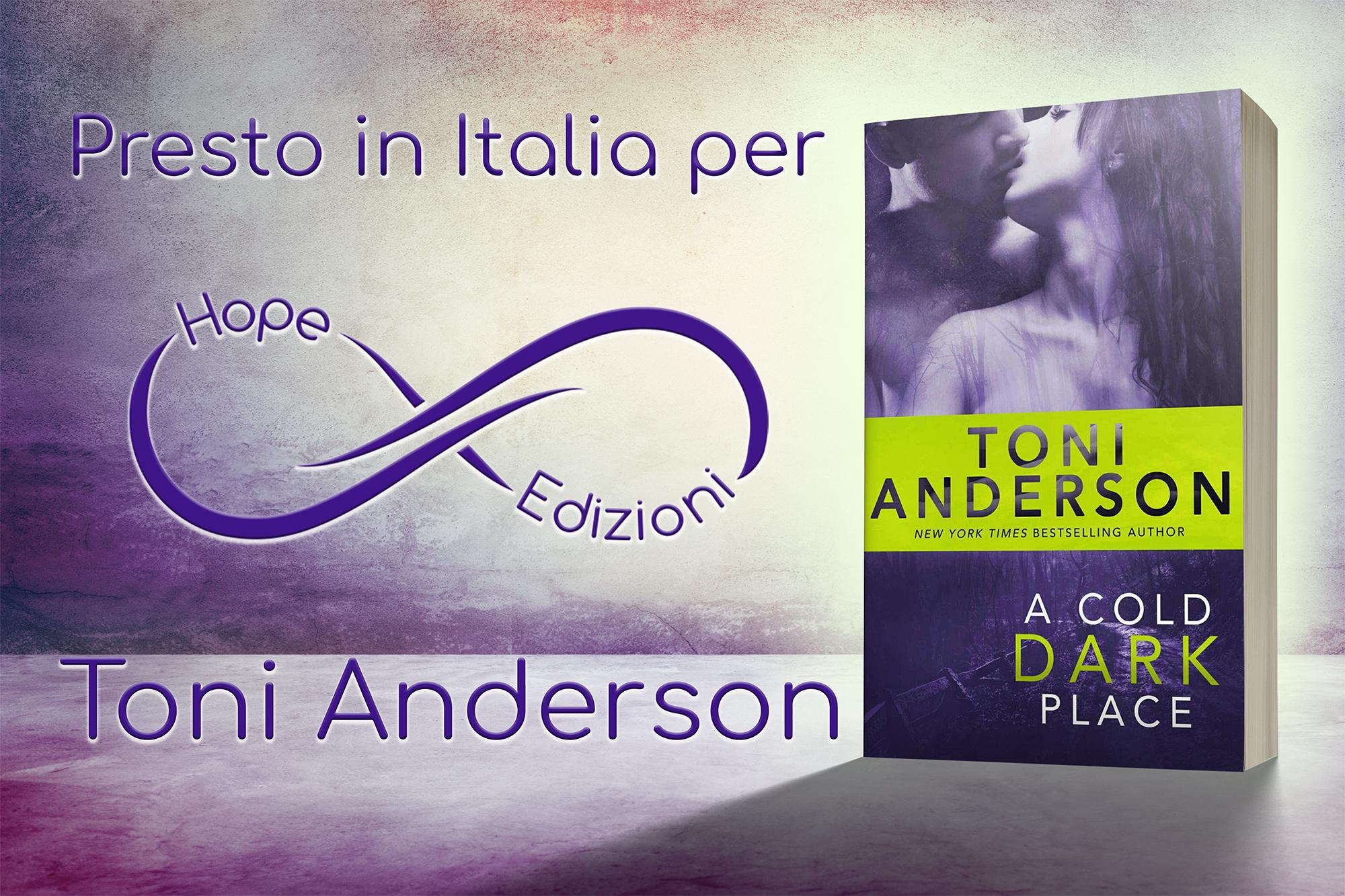 Presto in Italia… Toni Anderson!