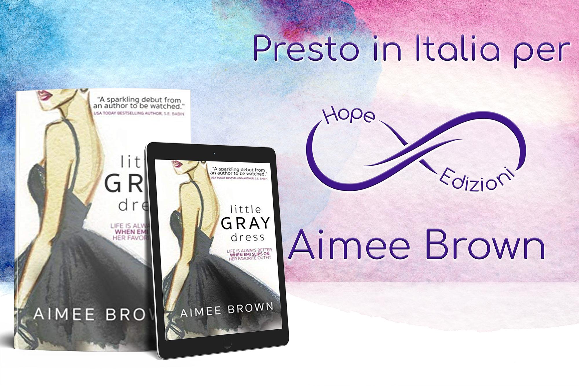 Presto in Italia… Aimee Brown!