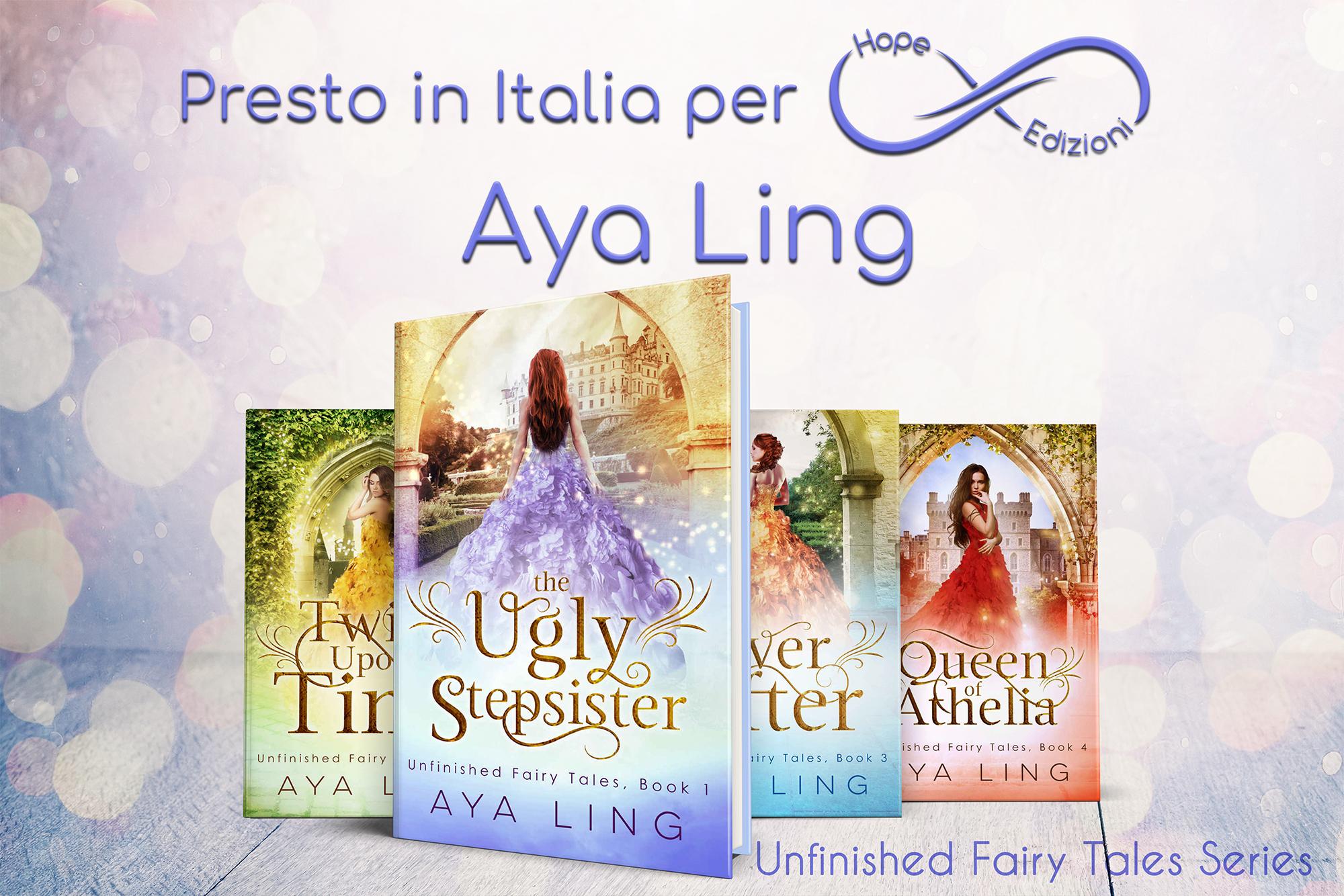 Presto in Italia… Aya Ling!
