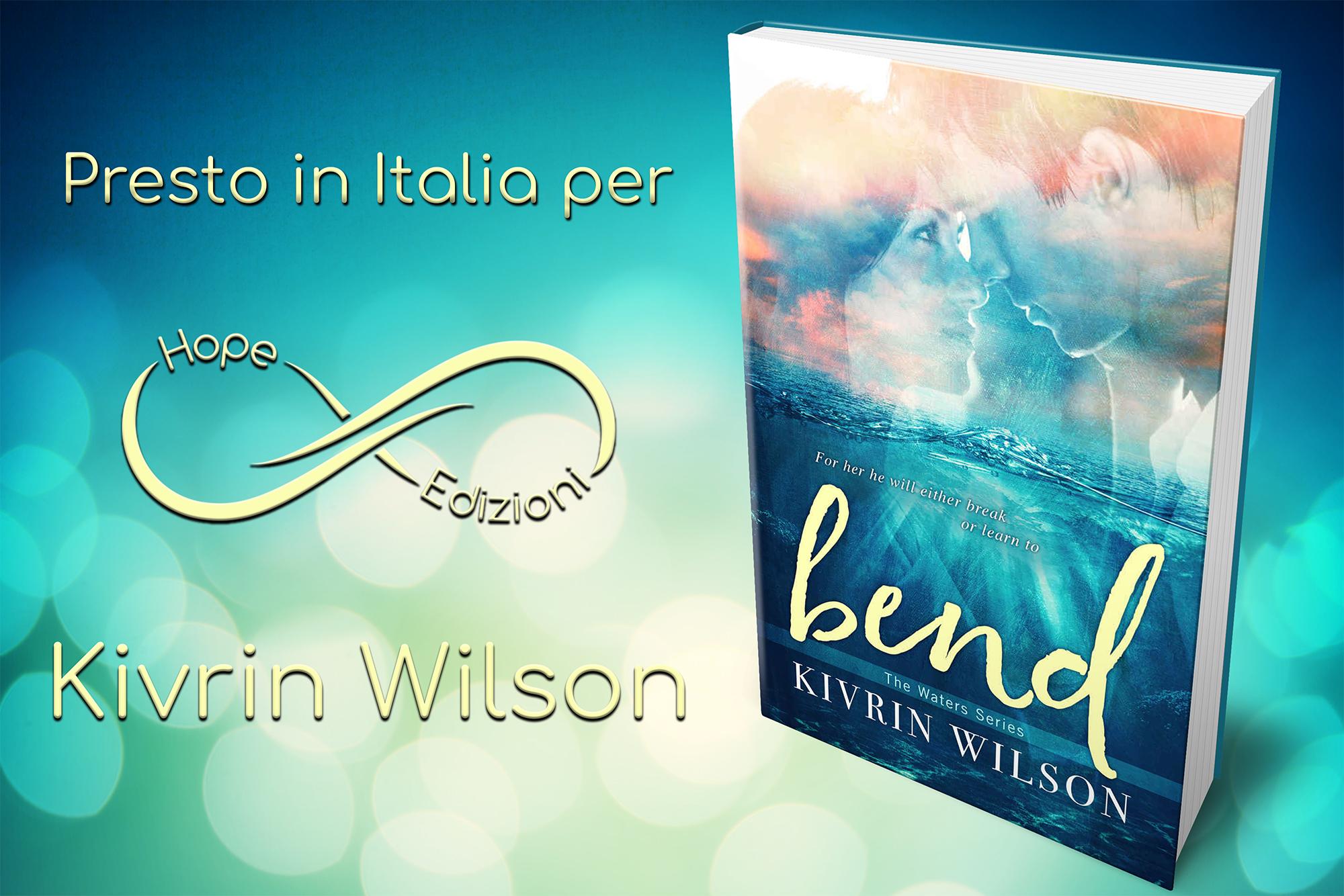 Presto in Italia… Kivrin Wilson!