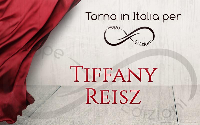 Presto in Italia… Tiffany Reisz!