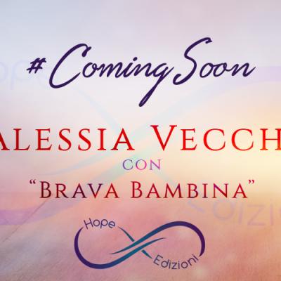 In arrivo… Alessia Vecchi!