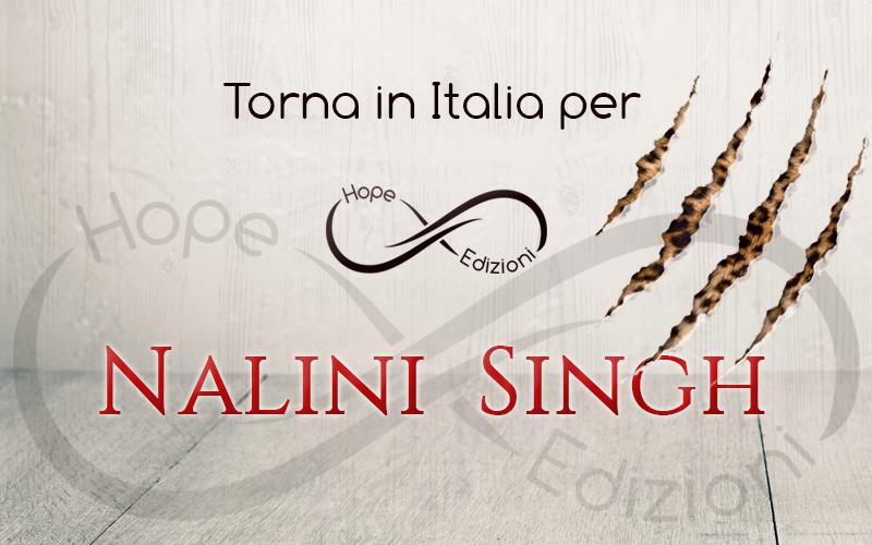 Torna in Italia… Nalini Singh!