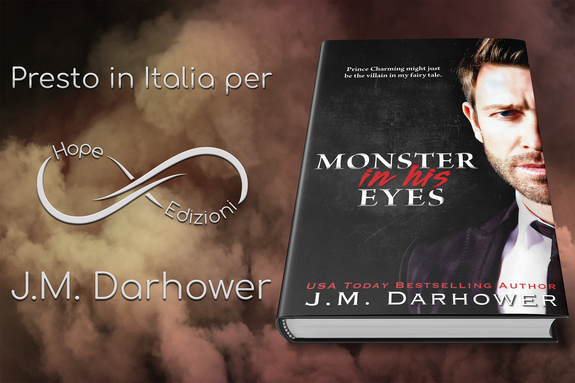 Arriva in Italia… J.M. Darhower!