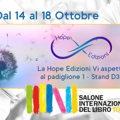 Venite a trovarci al Salone di Torino… Vi aspettiamo!
